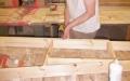 set construction, timber framed