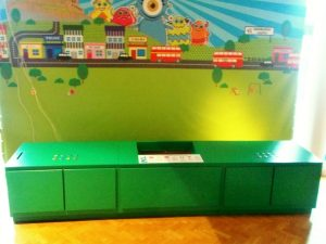 Interactive display unit, Edinburgh Science Festival