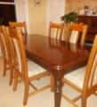 Elm dining chairs