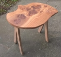 Burry elm occasional table, Commission