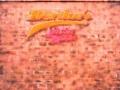 hand painted backdrop, fringe show