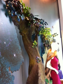 Midsummer Night Trees, commissioned shop displays