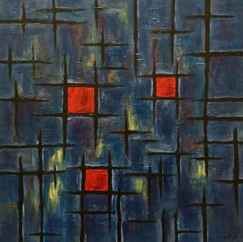 Study after Mondrian No. 1