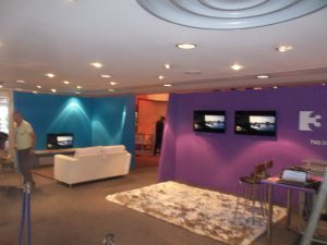 TV3 exhibition stand