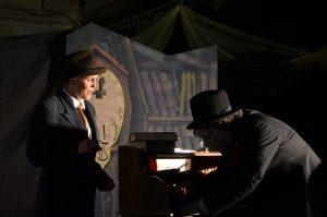 A Christmas Carol, Folksy Theatre, budget set